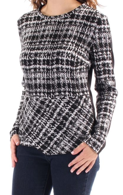 Calvin Klein свитер блузка с баской трикотажная