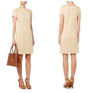 Трикотажное платье  футляр Lauren Ralph lauren
