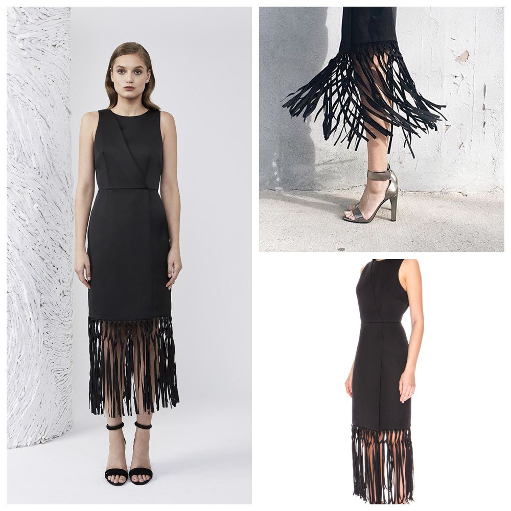 168b4110c8c Keepsake платье с бахромой коктейльное - Friendly Brands
