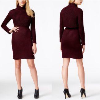 Платье-свитер крупной вязки Calvin Klein