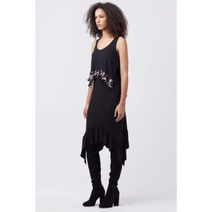 DVF Diane von Furstenberg платье туника шелк миди